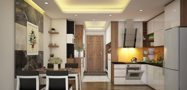 Chiêm ngưỡng những thiết kế bếp đẹp và hiện đại cho nhà chung cư - Ảnh 1.