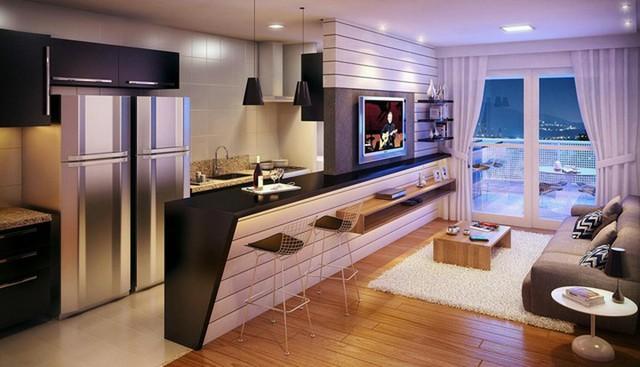Chiêm ngưỡng những thiết kế bếp đẹp và hiện đại cho nhà chung cư - Ảnh 2.