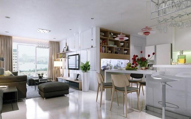 Chiêm ngưỡng những thiết kế bếp đẹp và hiện đại cho nhà chung cư - Ảnh 5.