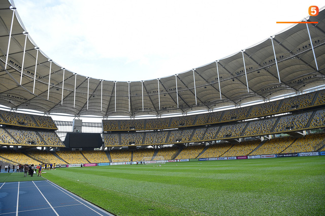 Chiêm ngưỡng vẻ hoành tráng của Bukit Jalil, SVĐ lớn nhất Đông Nam Á nơi ĐT Việt Nam sắp thi đấu - Ảnh 6.