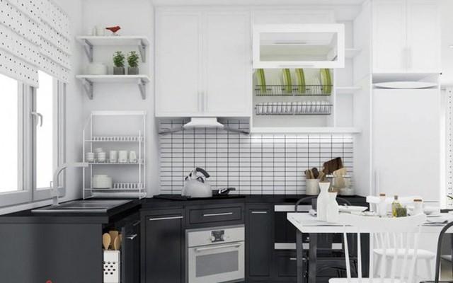 Chiêm ngưỡng những thiết kế bếp đẹp và hiện đại cho nhà chung cư - Ảnh 8.