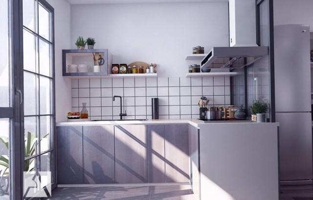 Chiêm ngưỡng những thiết kế bếp đẹp và hiện đại cho nhà chung cư - Ảnh 9.