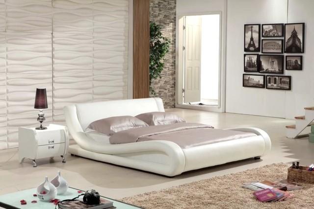 Làm mới phòng ngủ bằng giường ngủ tân tiến - Ảnh 1.