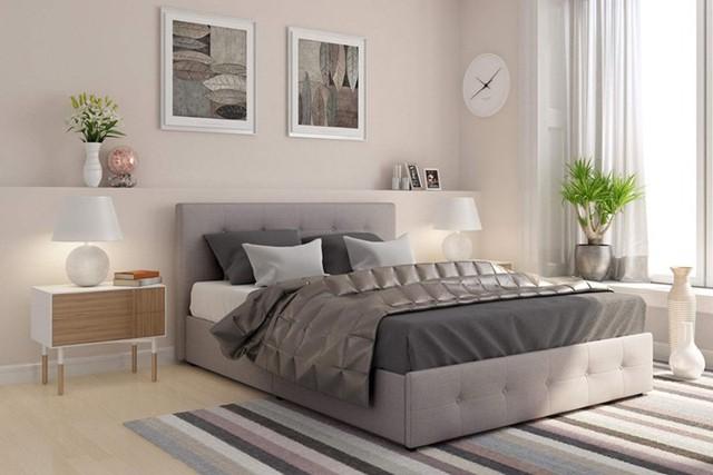Làm mới phòng ngủ bằng giường ngủ tân tiến - Ảnh 13.