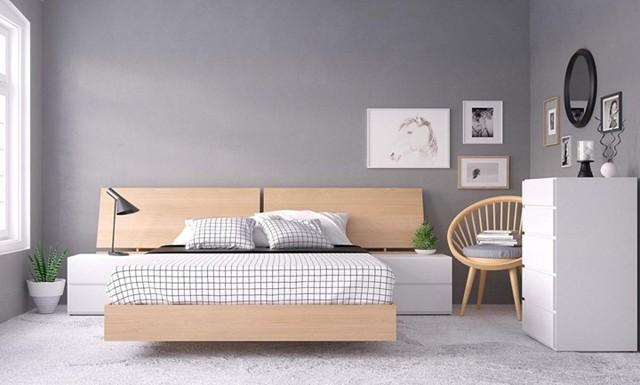 Làm mới phòng ngủ bằng giường ngủ tân tiến - Ảnh 17.