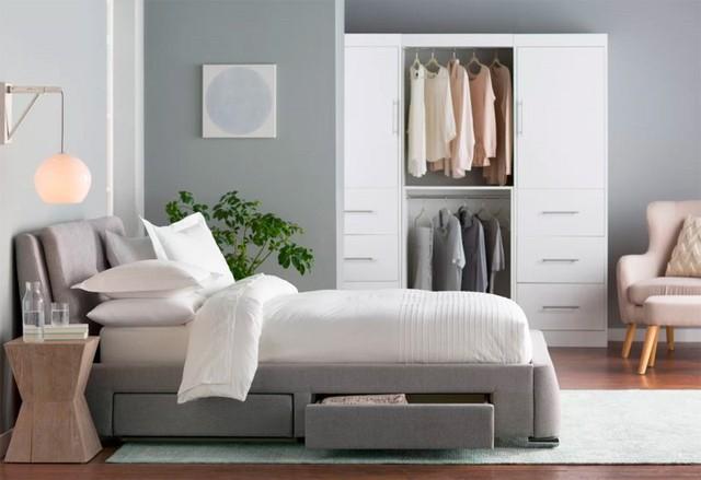 Làm mới phòng ngủ bằng giường ngủ tân tiến - Ảnh 7.
