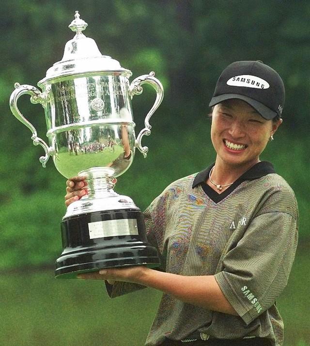 Không phải Park In-bee hay Choi Na-yeon, đây mới là golf thủ nữ đầu tiên đến từ Hàn Quốc tỏa sáng trên sân golf - Ảnh 2.