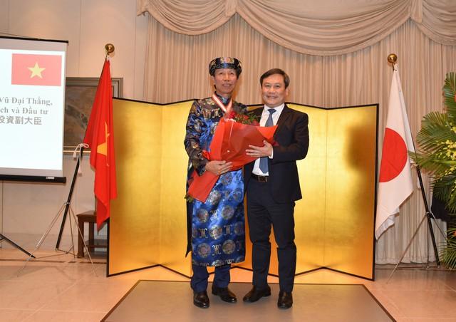 Cựu Cục trưởng Cục đầu tư nước ngoài được Hoàng gia, Chính phủ Nhật Bản trao tặng Huân chương mặt trời mọc - Ảnh 1.