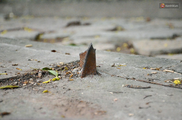 Chùm ảnh bên trong công viên lọt top 10 đẹp nhất Hà Nội: Rác thải, kính vỡ ngập ngụa lối đi - Ảnh 8.