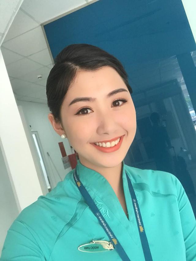 Nữ tiếp viên hàng không xinh đẹp gây bão mạng khi chụp ảnh cùng đội tuyển Việt Nam, tiết lộ bất ngờ về Quang Hải - Ảnh 10.