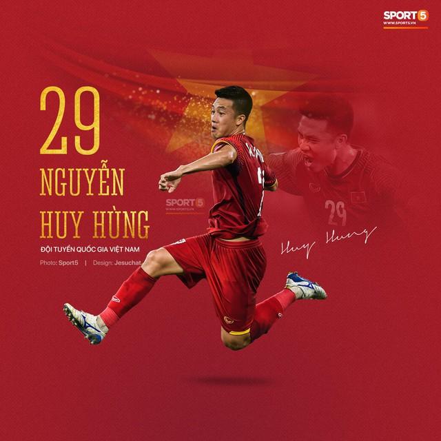 Info long lanh của 23 nhà vô địch AFF Cup 2018, những người hùng dân tộc - Ảnh 13.