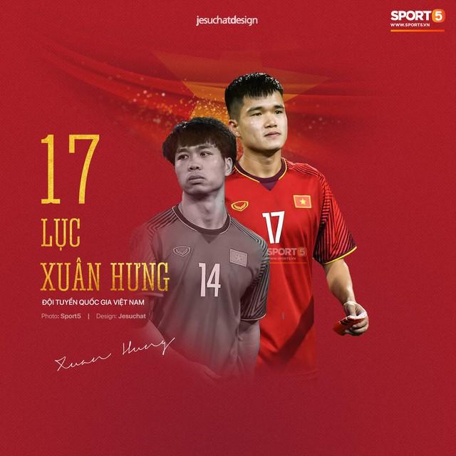 Info long lanh của 23 nhà vô địch AFF Cup 2018, những người hùng dân tộc - Ảnh 21.