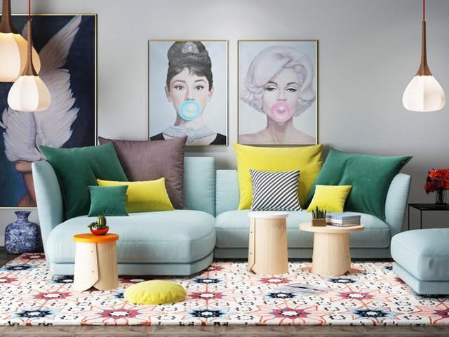 Phòng khách đẹp hiện đại, hấp dẫn người nhìn - Ảnh 12.