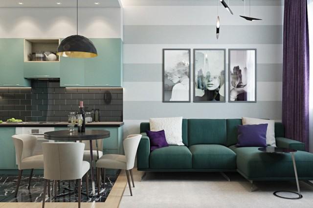 Phòng khách đẹp hiện đại, hấp dẫn người nhìn - Ảnh 13.