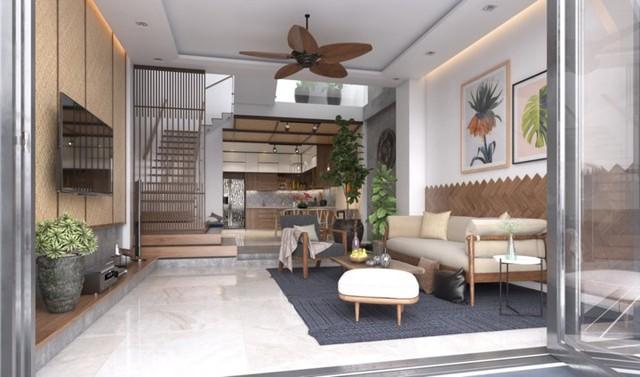 Phòng khách đẹp hiện đại, hấp dẫn người nhìn - Ảnh 6.