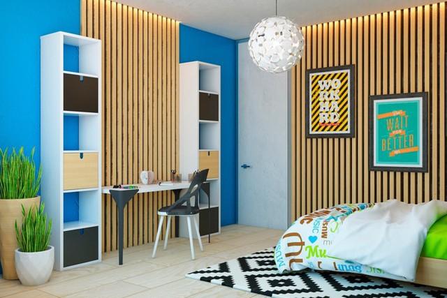 Ngôi nhà tuyệt đẹp nhờ chọn tường làm từ nan gỗ - Ảnh 7.