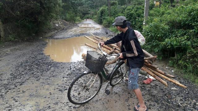 Đà Nẵng: Ám ảnh với 22 km đường ĐT 601 biến thành ao sau mưa lớn - Ảnh 12.