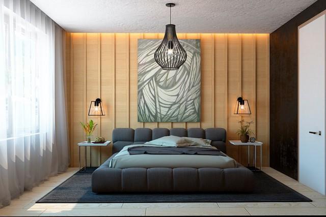 Ngôi nhà tuyệt đẹp nhờ chọn tường làm từ nan gỗ - Ảnh 10.
