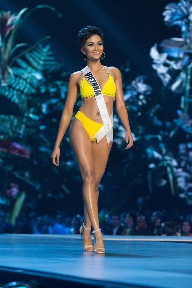 Chung kết Hoa hậu Hoàn vũ 2018: HHen Niê và Top 10 trình diễn bikini - Ảnh 17.