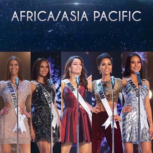Chung kết Hoa hậu Hoàn vũ 2018: HHen Niê và Top 10 trình diễn bikini - Ảnh 8.