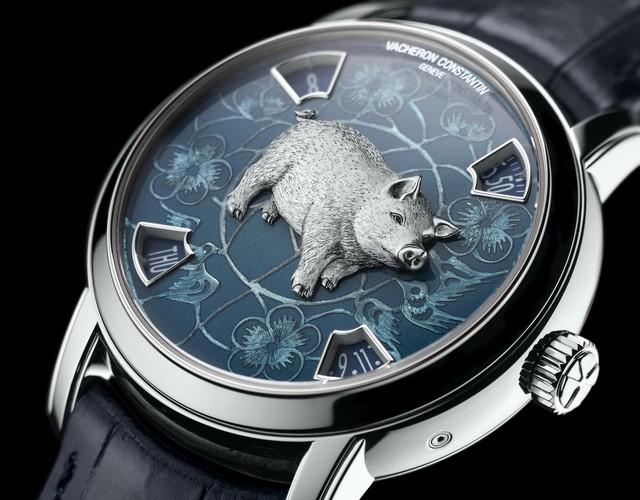 Hai mẫu đồng hồ chào đón năm mới Kỷ Hợi chinh phục giới thượng lưu: Biểu tượng lợn vàng xuất hiện đầy ấn tượng!  - Ảnh 4.