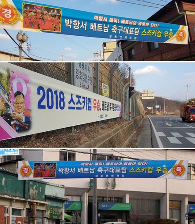 HLV Park Hang Seo được ca ngợi, chúc mừng khắp quê nhà - Ảnh 1.