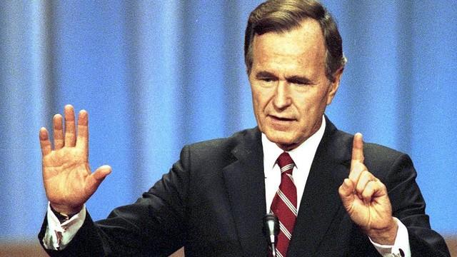 Chỉ làm tổng thống một nhiệm kỳ duy nhất nhưng ông Bush cha giúp định hình nước Mỹ suốt nhiều thập kỷ - Ảnh 3.
