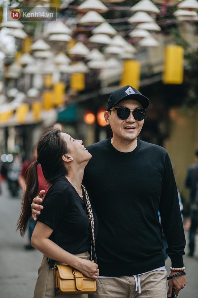 Sau con đường ô lãng mạn, Hà Nội xuất hiện Hội An thu nhỏ với 1.000 chiếc nón lá trên cao - Ảnh 12.