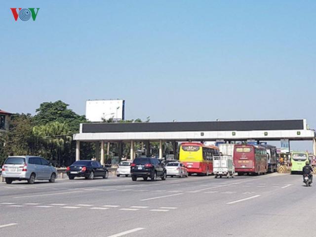 """Hình ảnh trạm BOT Bắc Thăng Long – Nội Bài """"thất thủ"""" do lái xe phản đối - Ảnh 12."""
