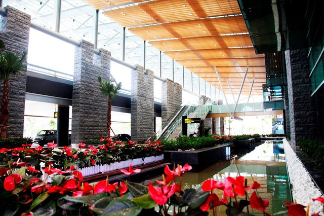 Choáng ngợp nhà ga xanh như khách sạn 5 sao ở Sân bay Vân Đồn - Ảnh 3.