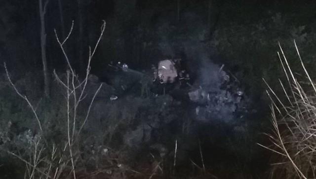 Xe bồn lao xuống vực, nổ lớn rồi bùng cháy sau va chạm trên đèo Hải Vân, tài xế tử vong - Ảnh 7.