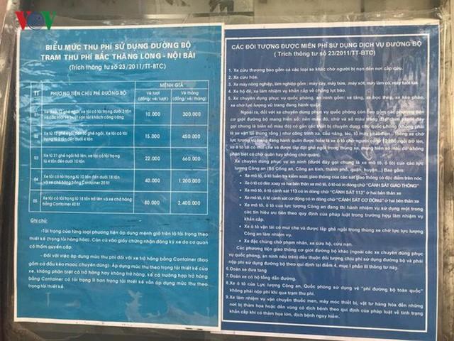 """Hình ảnh trạm BOT Bắc Thăng Long – Nội Bài """"thất thủ"""" do lái xe phản đối - Ảnh 9."""