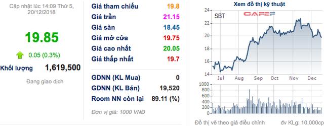 Thành Thành Công – Biên Hoà (SBT): Bà Đặng Huỳnh Ức My muốn mua thêm 12 triệu cổ phiếu - Ảnh 1.