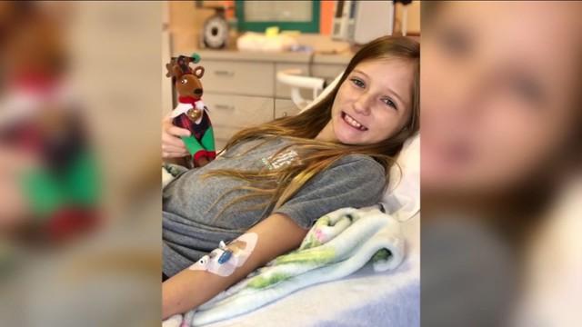 11 tuổi đã mắc u não hung hiểm không thể phẫu thuật, cô bé tưởng chừng phải đối mặt Tử thần bất ngờ được cứu sống nhờ phép màu đến từ trời xanh - Ảnh 1.
