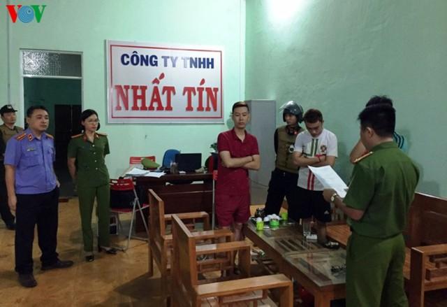 Khởi tố 5 đối tượng từ Hà Nội vào Gia Lai hoạt động tín dụng đen - Ảnh 1.