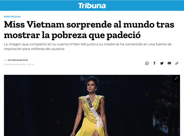 Báo nước ngoài vẫn phát sốt vì HHen Niê và giá trị thật sự của một hoa hậu - Ảnh 4.
