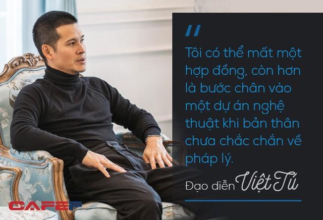 Đạo diễn Việt Tú: Thuyết phục nhà đầu tư xuống tiền hàng trăm tỷ không phải chuyện năm nay nghĩ, năm sau làm được luôn! - Ảnh 3.