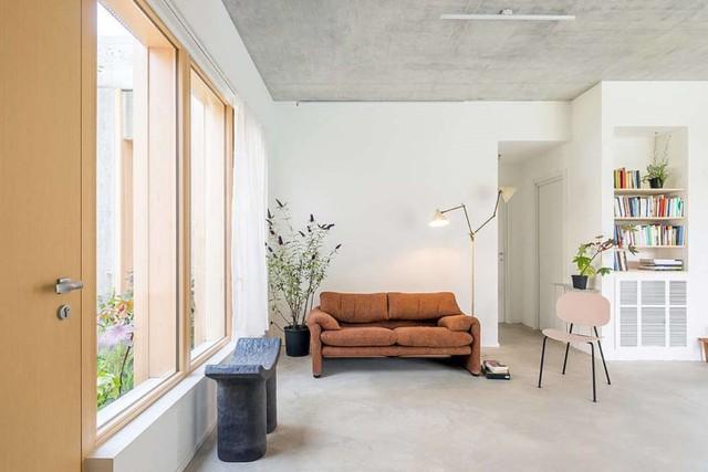 Ngôi nhà được xử lý để thông gió và đón nắng tốt - Ảnh 6.