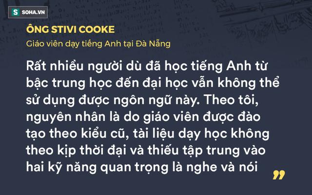 GS Nguyễn Tiến Dũng: Học tiếng Anh kiểu mì ăn liền và nỗi lo tàn tật, ngọng - Ảnh 2.