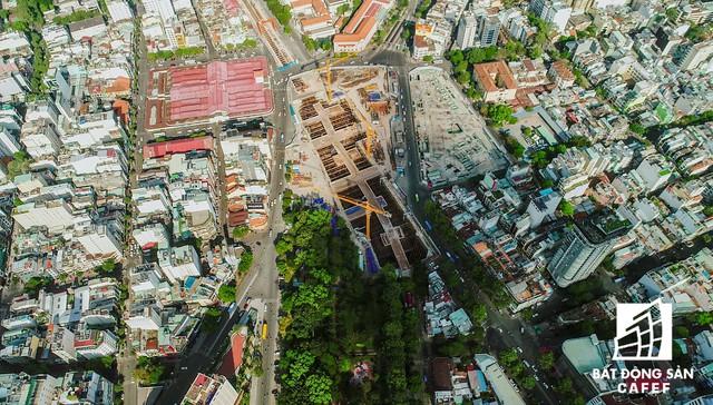 Toàn cảnh dự án cao ốc 55 tầng của Bitexco giữa trọng điểm TP.HCM vừa được đổi sang chủ đầu tư mới - Ảnh 2.