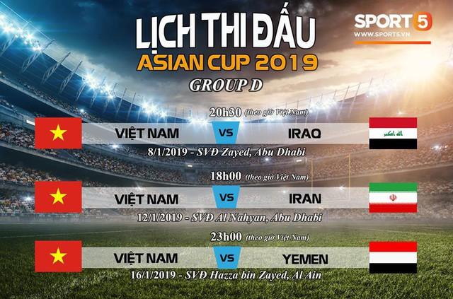LĐBĐ Châu Á nhầm lẫn, bỏ quên đội tuyển Việt Nam tại Asian Cup 2019 - Ảnh 3.