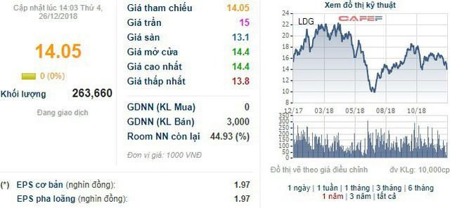 Chủ tịch LDG vừa mua thêm 2 triệu cổ phiếu - Ảnh 1.
