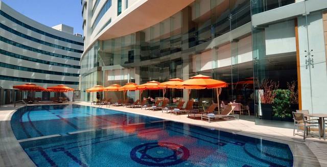 Cận cảnh khách sạn sang chảnh, nơi đội tuyển Việt Nam đóng quân tại Qatar - Ảnh 9.