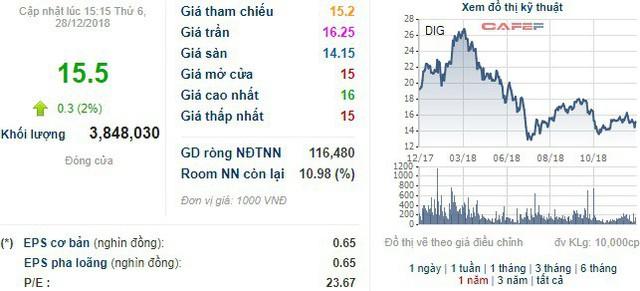 Phó Chủ tịch DIC Corp đăng ký mua 2 triệu cổ phiếu DIG - Ảnh 1.