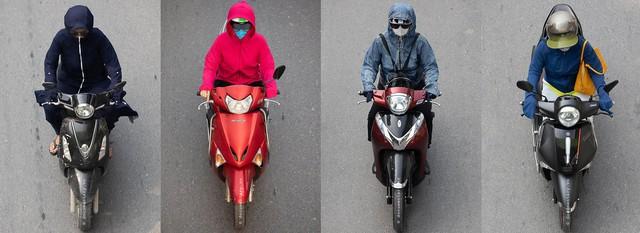 Hình ảnh Người Hà Nội đi xe máy bỗng trở nên vô cùng ấn tượng với góc máy trên cao - Ảnh 2.