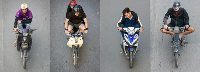 Hình ảnh Người Hà Nội đi xe máy bỗng trở nên vô cùng ấn tượng với góc máy trên cao - Ảnh 11.