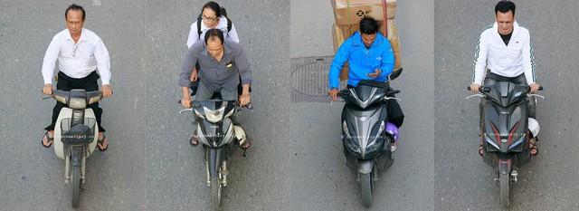 Hình ảnh Người Hà Nội đi xe máy bỗng trở nên vô cùng ấn tượng với góc máy trên cao - Ảnh 5.
