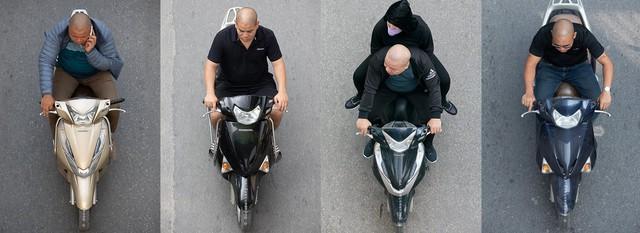 Hình ảnh Người Hà Nội đi xe máy bỗng trở nên vô cùng ấn tượng với góc máy trên cao - Ảnh 10.