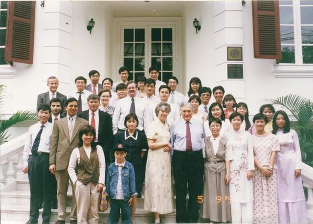 Vài kỷ niệm với sếp Ngân hàng Thế giới đầu tiên ở Hà Nội - Ảnh 1.