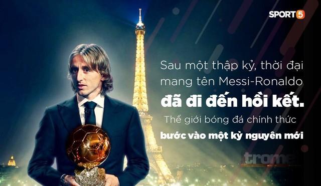Quả bóng vàng 2018 Luka Modric - Kẻ giết rồng đưa thế giới vào thời đại mới - Ảnh 1.